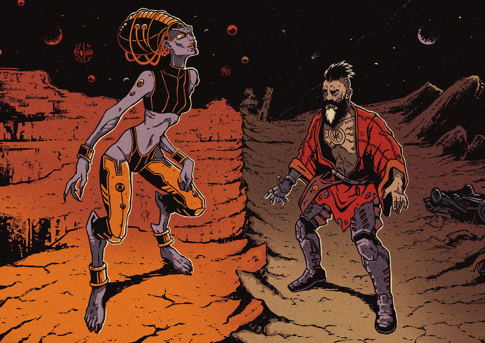 Марс – Викрадене дитя Імперії